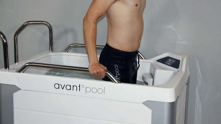 Avantopool Kinos för kallbad året runt