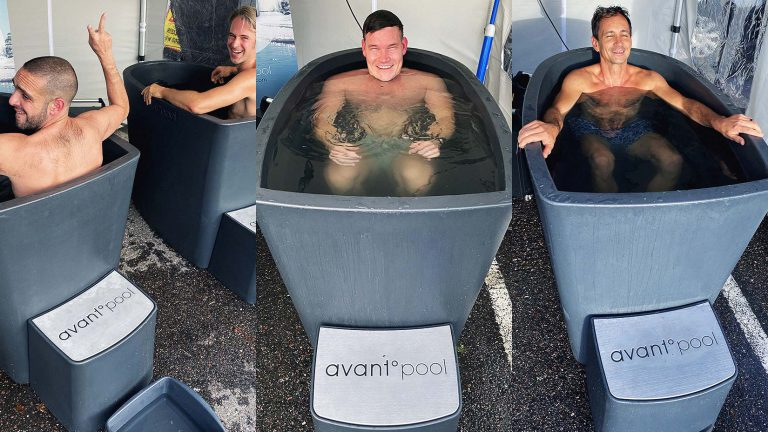 Avantopool Hanki - smidiga pooler för kallbad året runt