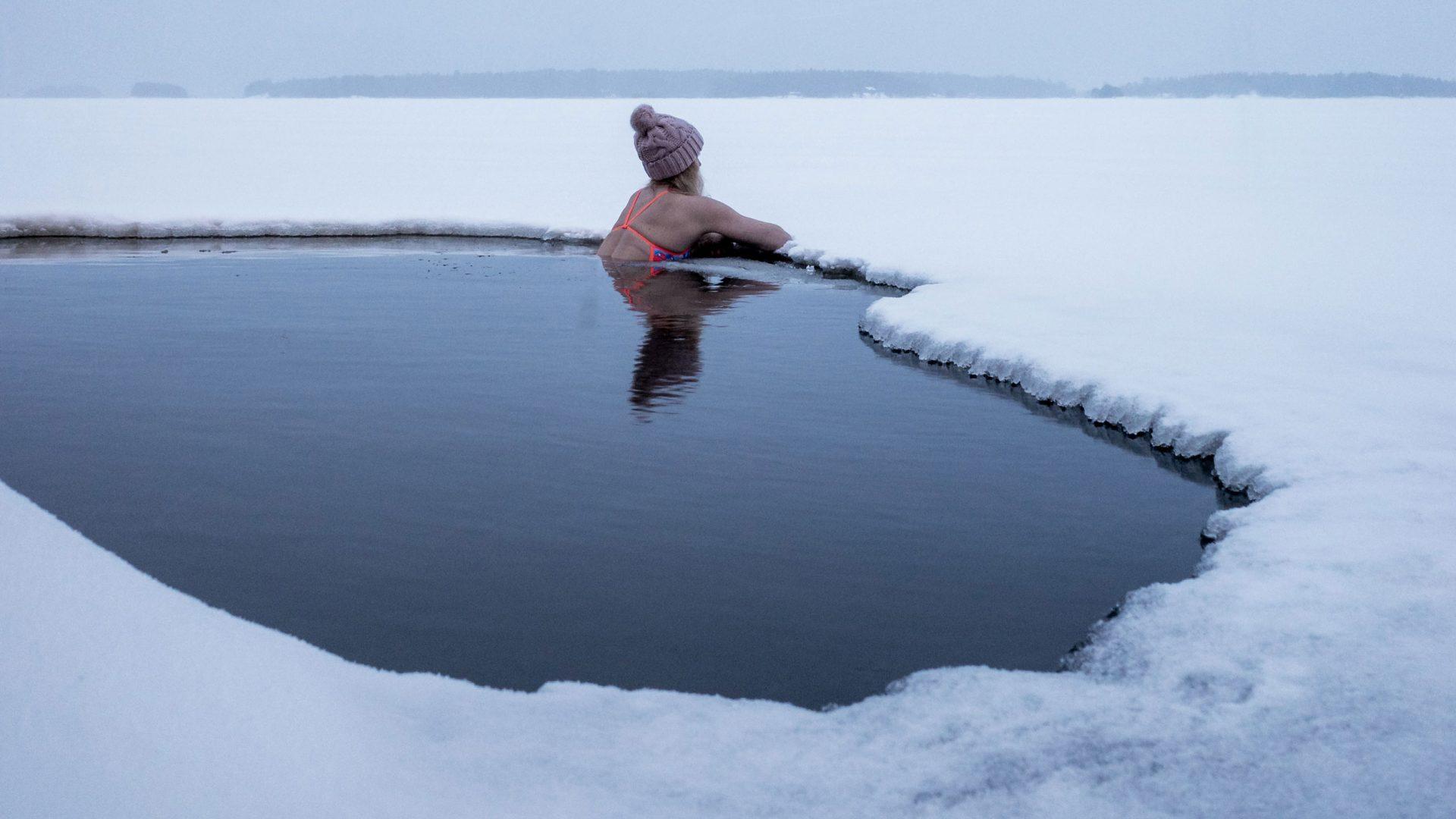 Kallbad ökar kroppens möjlighet till snabb återhämtning.